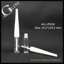 Cute Plastic Round Lip Gloss Tube AG-LPG36, AGPM Cosmetic Packaging , Custom Colors/Logo