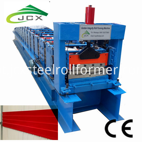 Exterior Weather Board Wall Cladding Sheet Roll Forming Machine