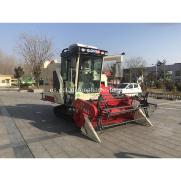 Crawler Rice Paddy Rice Mini Cosechadora