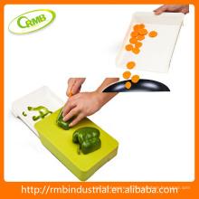 Placa de corte flexível com gaveta