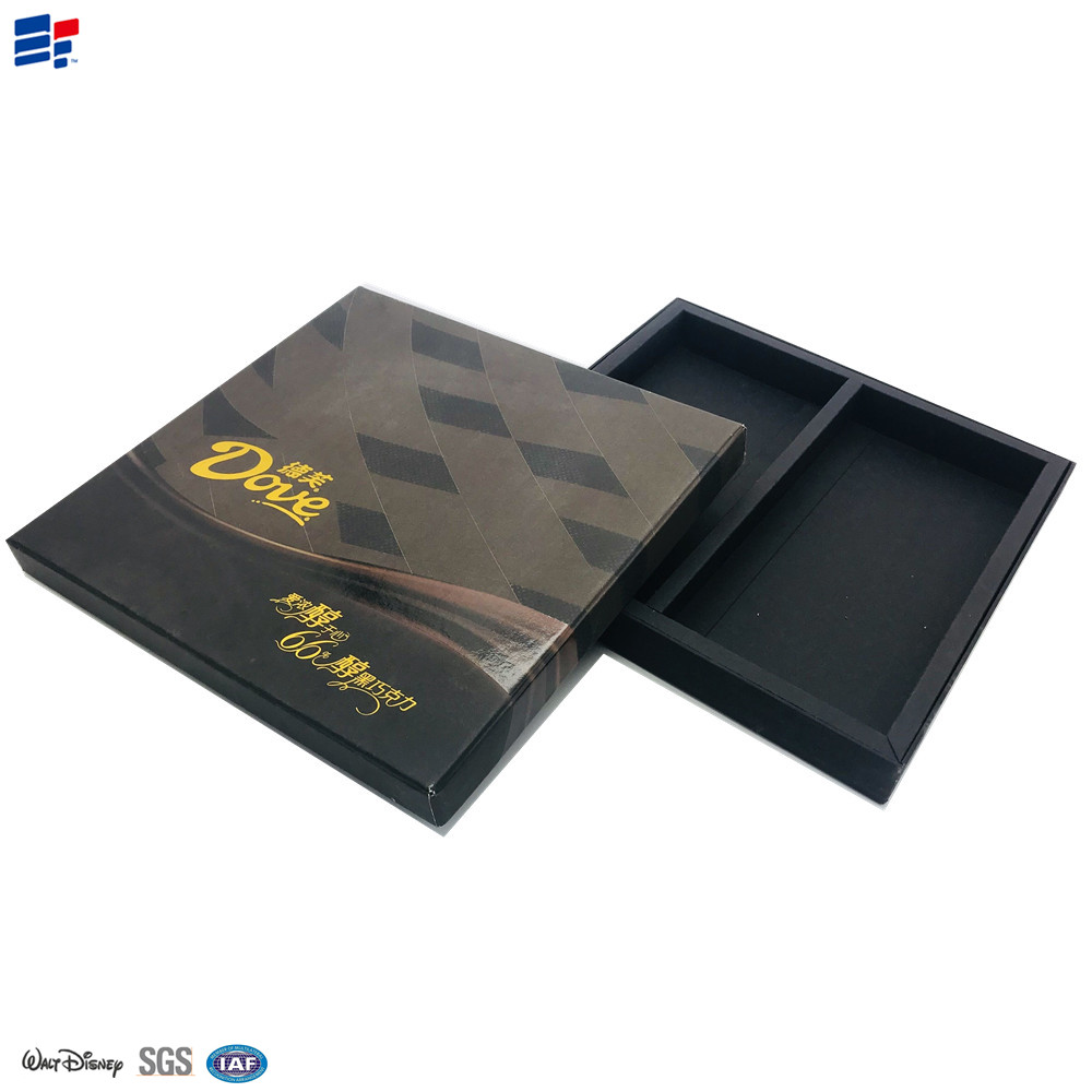 Folded Paper Chocolate Box with Printing