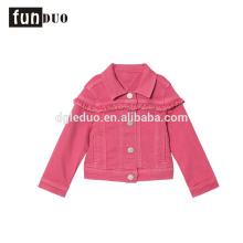 Denim moda niños chaqueta de mezclilla jeans Denim moda niños chaqueta de mezclilla chaqueta jeans denim niños
