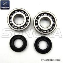 Derbi Senda Crank Sharf Bearing Set Incl. Oil Seals (P/N:ST04135-0002) Top Quality