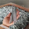 Galvanized cable clip concrete nail