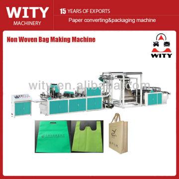 Multifuncional não tecido caixa saco de máquina
