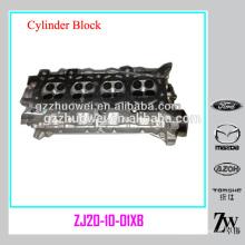 Cabeça de cilindro japonês e tampa da cabeça do cilindro do motor de carro MAZDA 2 ZJ20-10-01XB