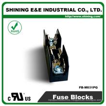 FB-M031PQ Igual a Bussmann 600V 30 Amperios 1 polo 10x38 caja de fusibles de anillos