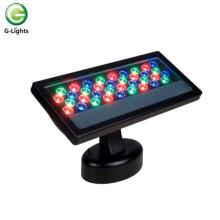Светодиодный прожектор RGB с дистанционным управлением 36 Вт