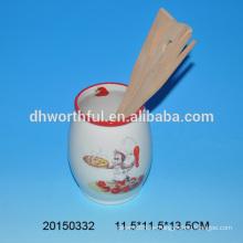 2016 titular de utensilios de cerámica de estilo moderno para la venta al por mayor