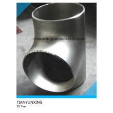 ASTM Igual Butt soldado T de aço inoxidável sem costura