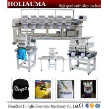 China fábrica Holiauma bordado máquina preço alta velocidade 2 cabeça Cap bordado Tubular máquina Ho1502n