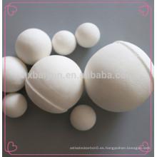 Bola refractaria de la bola de cerámica del alúmina para los procesos de la olefina