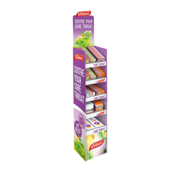 APEX Temporäres Lila Candy Snack Display Rack