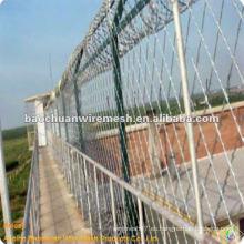BTO-30 rejilla de barandilla de prisión recubierta de zinc