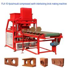 Máquina de bloque de bloqueo automático de tierra comprimido hidráulico completo (ceb)