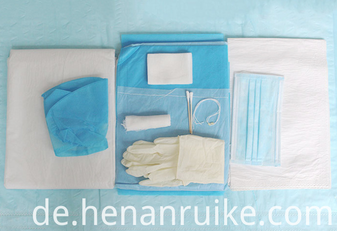 Single use medical sterile production kit
