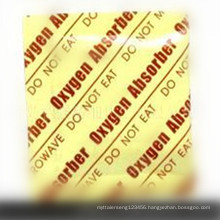 Food grade oxygen gas absorber deoxidizer