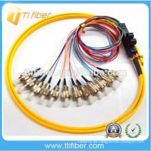FC 12 Colores Cinta Fibra Optica Pigtail