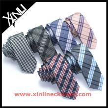 Cree su propia marca de la marca privada Perfect Neck Knot Silk Jacquard Woven Lazos de los hombres