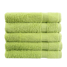 Luxury Towels Dobby Plain 100% Cotton Bath Towel