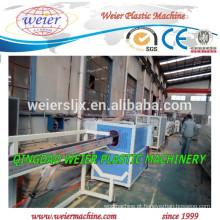 A melhor oferta para plástico PP PE PEAD tubo máquina extrusora