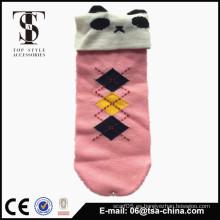 Calcetín de calcetín de dibujos animados 3d de calcetín animal