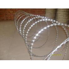 Galvanisierter Stahl-Rasiermesser-Stacheldraht