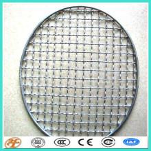 treillis métallique décoratif d'armure ondulée d'acier inoxydable 304
