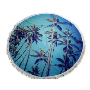 Microfiber Reactive Printed Large Beach Handdoek