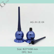 AG-JH-JE-04 AGPM cosmética embalaje personalizado plástico vaciar OFC 9ml diseño especial Irregular delineador líquido botella