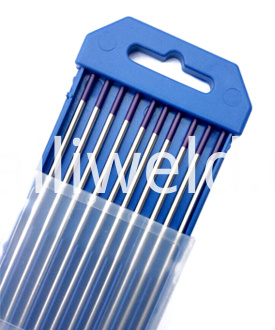 WT30 Purple tungsten electrode,2%thoriated tungsten electrode