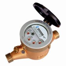Rueda de paletas Multi Jet hierro medidor de agua (MJ-LFC-F10-3)