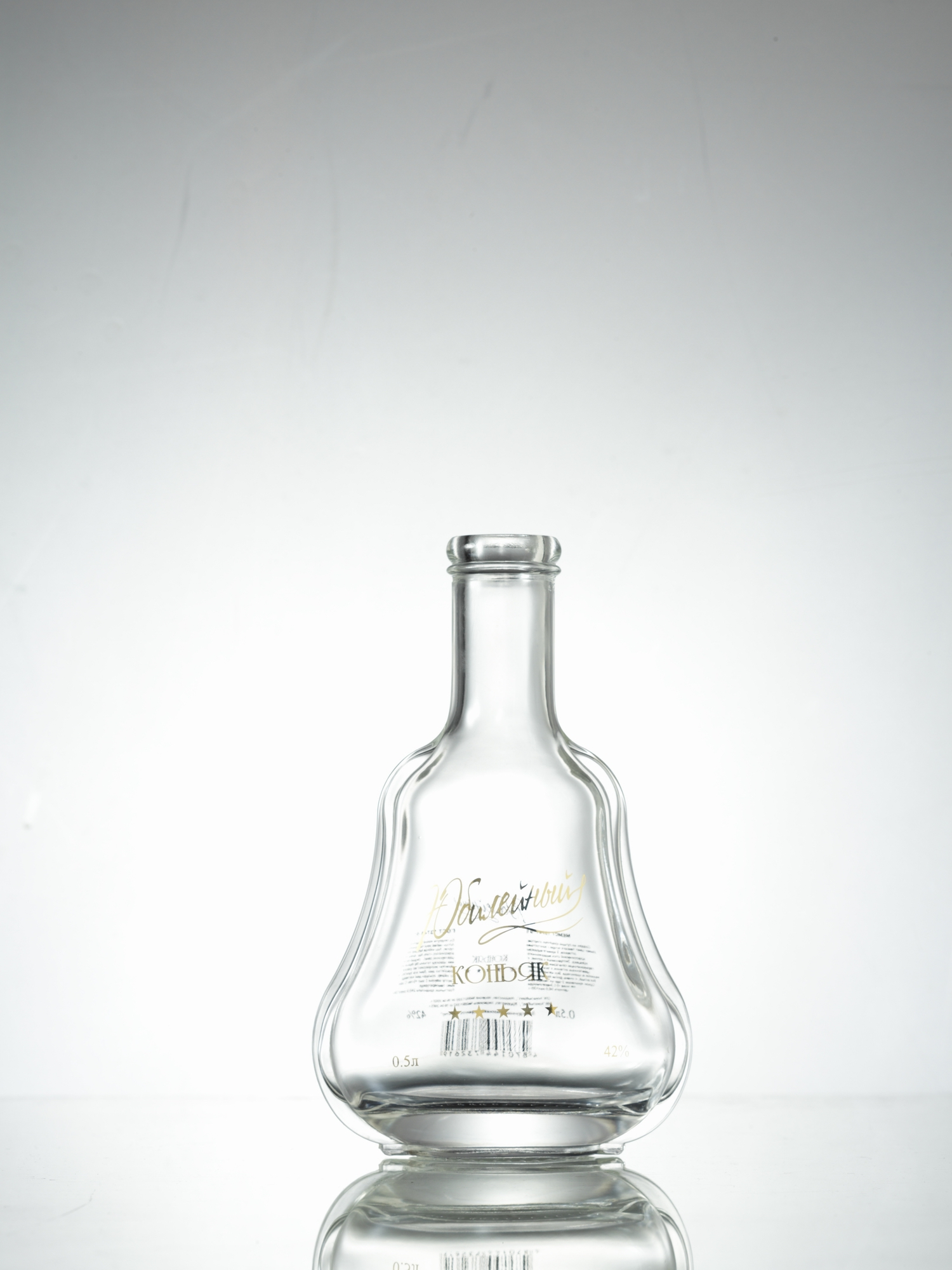 500ml tequila bottle