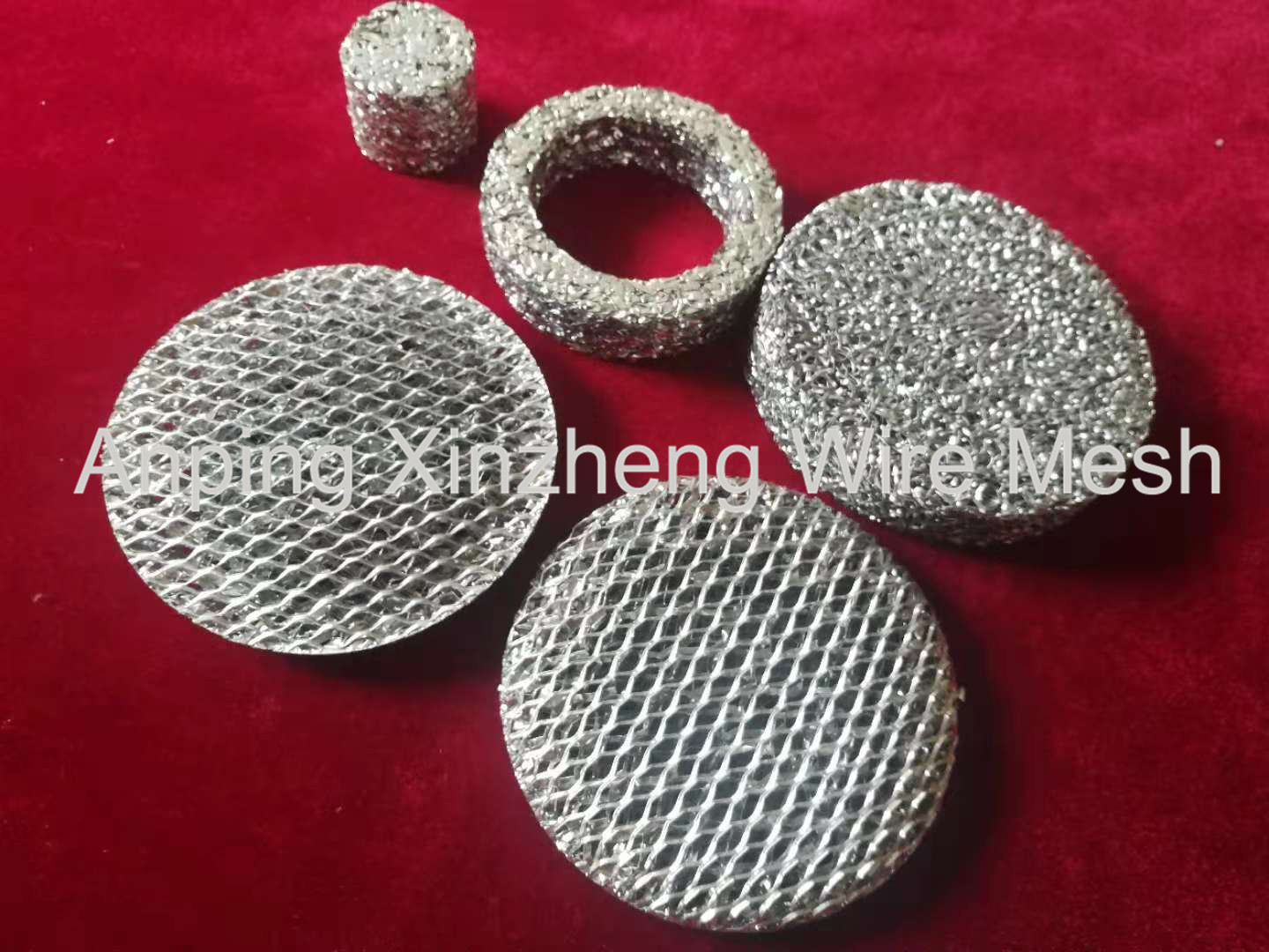 Expanded Aluminum Filter Mesh