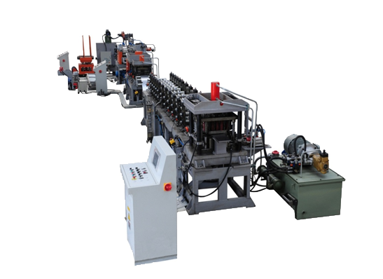 Shelf Baseplate Roll Forming Machinery