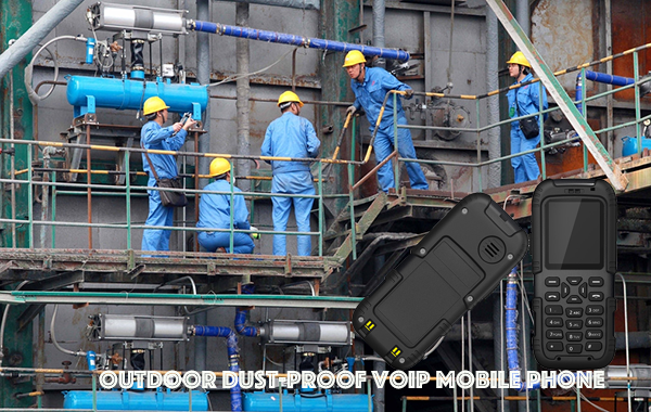 Outdoor Dust-proof VOIP Mobile Phone