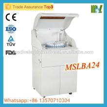MSLBA24M Meilleur prix Analyseur de biochimie automatique automatique Analyseur biochimique automatique