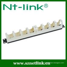 Gerenciador de fio plástico de 19 polegadas para painel de patch RJ11