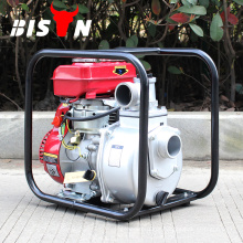 BISON CHINA TaiZhou 60M3 / h Gasolina Pequena 3inch Handheld Honda Kerosene Water Pump