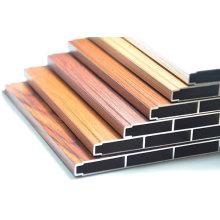 Wood Color Aluminum Section Aluminium Construction Profile
