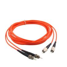 0.9mm 2.0mm 3.0mm DM cabo de remendo duplex da fibra ótica do ST