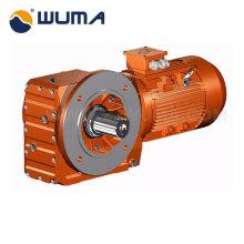 Conducción caja de cambios de engranajes helicoidales con motor