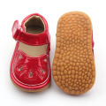 Borong Girl Flat Fesyen Sandals Toddler Squeaky Shoes