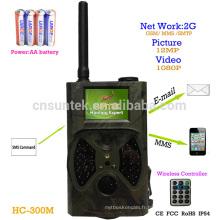Commande de SMS de 12MP 1080P MMS GPRS Wildkamera 940NM HC300M