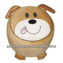 Nuevo tipo felpa perro inflable taburete