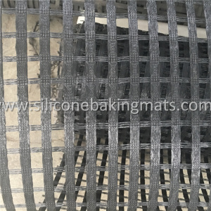 Uniaxiales PVC-beschichtetes Polyester-Geogrid