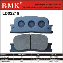 Wear Resistant Brake Pads (D2219)