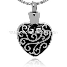 Vintage Collection Cremation Ashes Urn Necklace For Men And Women