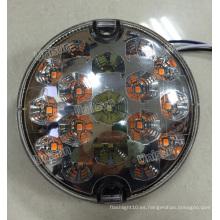 Lámpara de posición delantera redonda de 12 V, luces traseras multifunción