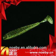 NOEBY lure 12 cm double colour soft plastic sea fishing bait